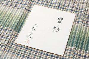人間国宝 志村ふくみ作 紬着物「翠影」のサブ5画像