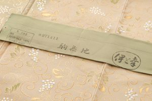 人間国宝 福田喜重作 刺繍訪問着のサブ7画像