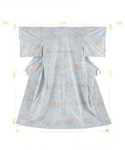 本場大島紬 桃柄のメイン画像