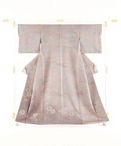 初代久保田一竹作 色留袖のメイン画像