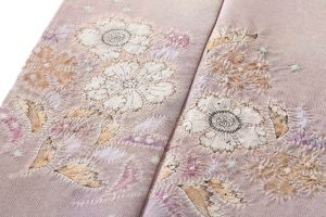 初代久保田一竹作 色留袖のサブ4画像