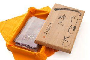 初代久保田一竹作 色留袖のサブ6画像