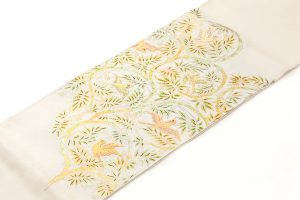 龍村平蔵製 袋帯「重行地紙文」のサブ1画像
