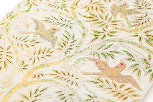 龍村平蔵製 袋帯「重行地紙文」のサブ2画像