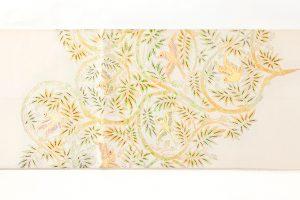 龍村平蔵製 袋帯「重行地紙文」のサブ3画像