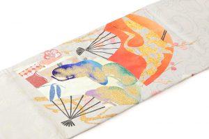 龍村平蔵製 丸帯「福壽氷紈錦」のサブ1画像