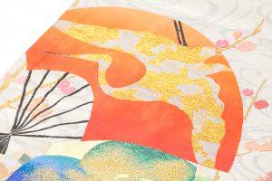 龍村平蔵製 丸帯「福壽氷紈錦」のサブ2画像