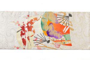 龍村平蔵製 丸帯「福壽氷紈錦」のサブ4画像