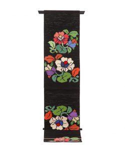 初代龍村平蔵製 袋帯「御室椿」のメイン画像