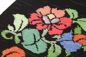 初代龍村平蔵製 袋帯「御室椿」のサブ2画像