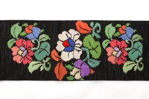 初代龍村平蔵製 袋帯「御室椿」のサブ4画像