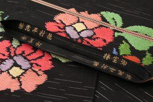初代龍村平蔵製 袋帯「御室椿」のサブ5画像