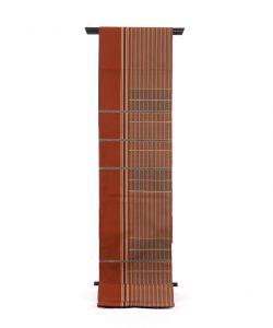 龍村平蔵製 袋帯「弥左衛門間道」のメイン画像