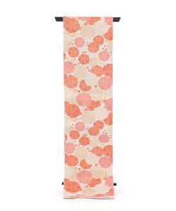 桝屋高尾製 袋帯 錜金綴錦「紅白梅図」のメイン画像