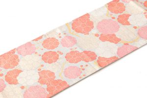 桝屋高尾製 袋帯 錜金綴錦「紅白梅図」のサブ1画像