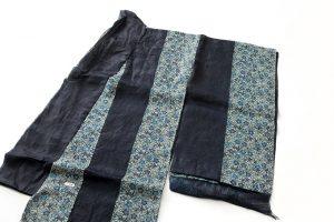 宮古上布 藍型染着物地のサブ1画像
