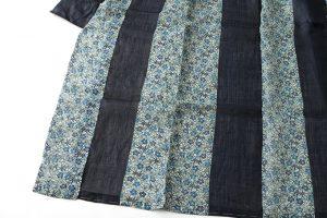 宮古上布 藍型染着物地のサブ2画像