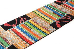 龍村美術織物謹製 袋帯「王朝華映錦」のサブ1画像