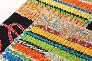 龍村美術織物謹製 袋帯「王朝華映錦」のサブ2画像