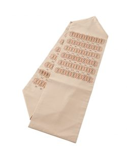 人間国宝 宮平初子作 首里花織名古屋帯のメイン画像