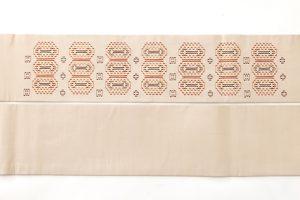 人間国宝 宮平初子作 首里花織名古屋帯のサブ4画像