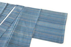 人間国宝 志村ふくみ作 紬着物「波の響き」のサブ1画像