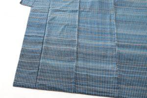 人間国宝 志村ふくみ作 紬着物「波の響き」のサブ2画像