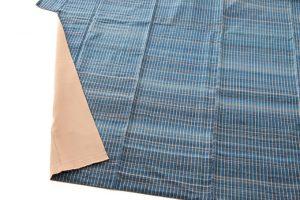 人間国宝 志村ふくみ作 紬着物「波の響き」のサブ4画像