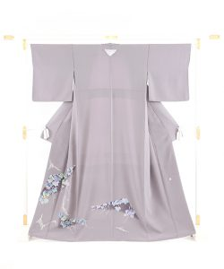 毎田健治作 本加賀友禅色留袖「薫風・蔦」のメイン画像