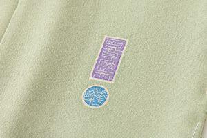 百貫華峰作 本加賀友禅色留袖「松梅に鳩飛ぶ」のサブ4画像
