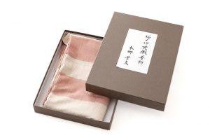本郷孝文作 桜〆切花織紬訪問着地のサブ4画像