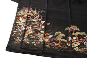 手刺繍 留袖のサブ1画像