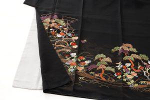 手刺繍 留袖のサブ2画像