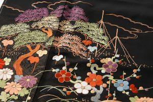 手刺繍 留袖のサブ4画像