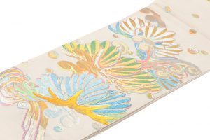 龍村平蔵製 袋帯「彩彫寿松錦」のサブ1画像