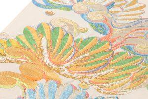 龍村平蔵製 袋帯「彩彫寿松錦」のサブ2画像