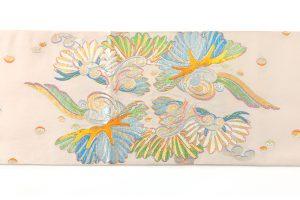 龍村平蔵製 袋帯「彩彫寿松錦」のサブ3画像