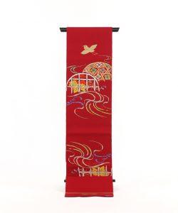 龍村平蔵製 夏袋帯「光悦加茂川」のメイン画像