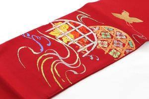 龍村平蔵製 夏袋帯「光悦加茂川」のサブ1画像