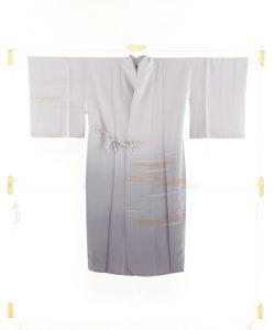 福田喜重作 刺繍長道中着のメイン画像