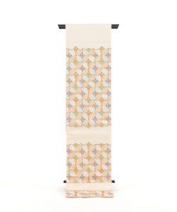 龍村平蔵製 袋帯「宮嶋格子錦」のメイン画像