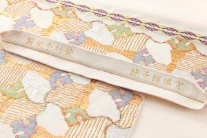 龍村平蔵製 袋帯「宮嶋格子錦」のサブ4画像