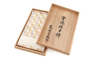 龍村平蔵製 袋帯「宮嶋格子錦」のサブ5画像