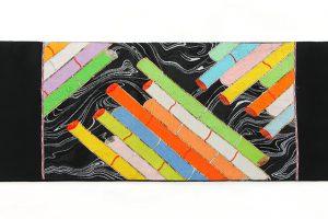 龍村平蔵製 袋帯「慶長筏」のサブ3画像