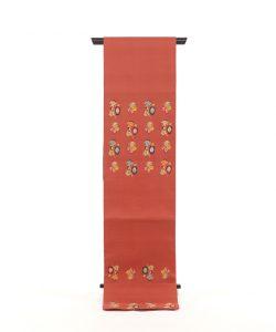 龍村平蔵製 袋帯「モール草花文」のメイン画像