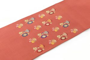 龍村平蔵製 袋帯「モール草花文」のサブ1画像