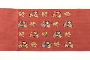 龍村平蔵製 袋帯「モール草花文」のサブ3画像