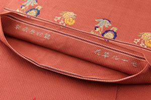 龍村平蔵製 袋帯「モール草花文」のサブ4画像