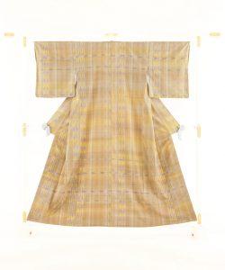 志村洋子作 紬着物「弓張月」のメイン画像