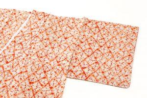 茜染 紬着物のサブ1画像